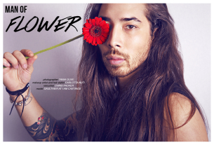 MAN OF FLOWER – Noctis Magazine Editorial